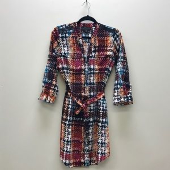 attention Dresses & Skirts - attention | Multi-Color Shirt Dress - FINAL PRICE